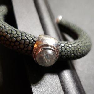 Moonstone cuff bracelet...awesome!!